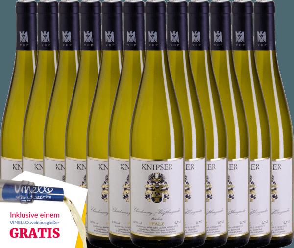 El Chardonnay & Pinot Blanc de Knipser es un vino blanco equilibrado y vivaz del Palatinado. El Chardonnay aporta a este vino un elegante picor y el Pinot Blanc un maravilloso y fresco aroma a heno de pradera y aromas de pera y ciruela. Consiga ahora este vino blanco alemán en nuestro pack de 12 unidades. Conozca más sobre este vino de Alemania en el artículo individual del Knipser Chardonnay & Pinot Blanc.
