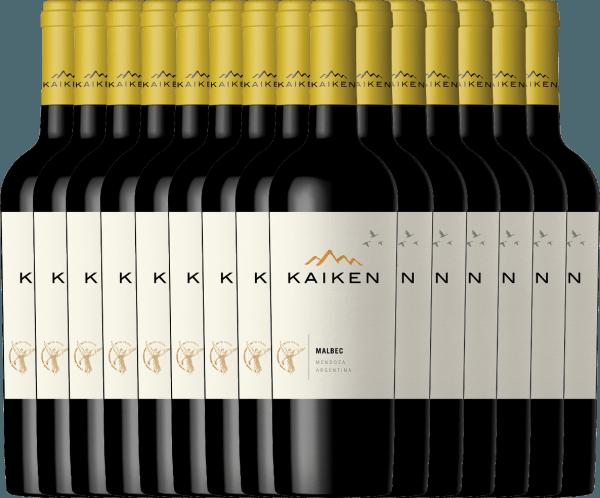 15er Vorteils-Weinpaket - Kaiken Malbec 2019 - Viña Kaiken