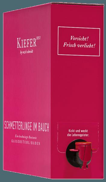Schmetterlinge im Bauch Rosé 3,0 l Bag in Box Weinschlauch 2019 - Weingut Kiefer