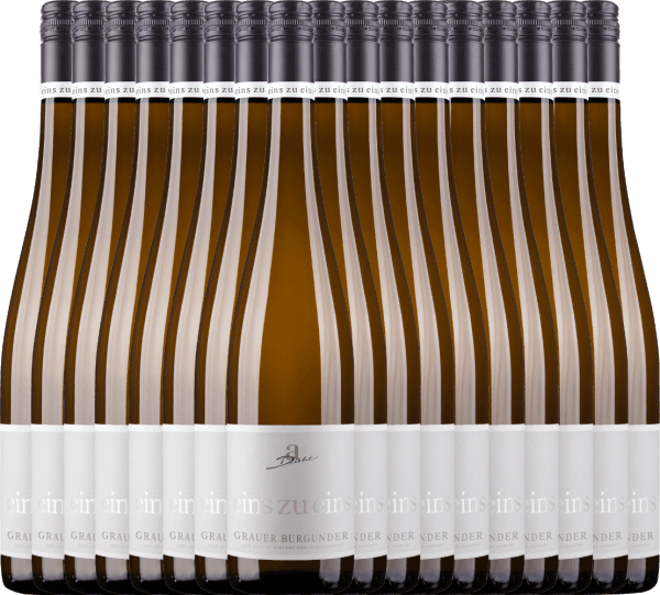 18er Vorteils-Weinpaket - Grauer Burgunder eins zu eins Kabinett 2020 - A. Diehl