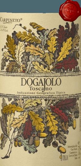 El Dogajolo Toscano Rosso de Carpineto es el clásico entre los Supertuscos pequeños. Como en todos los Supertuscanos, la uva Chianti Sangiovese es el corazón del vino. Se añade Cabernet Sauvignon y otras variedades de uva. El color del Dogajolo Rosso se describe mejor con un rojo cereza brillante. De densidad media en la copa, huele elegantemente a cerezas ácidas maduras, complementadas con algo de granada y grosella. Delicados matices de vainilla y un fino toque de roble complementan. En el paladar, elDogajolo Toscano Rosso es agradablemente fresco, vivo y con agarre. Taninos presentes pero bien integrados y una fresca acidez frutal dan al vino agarre y carácter. Un excelente acompañante de la comida, que no abandona el fantasma ni siquiera con la comida rica y grasienta. Vinificación del Dogajolo Toscano Rosso Las uvas se cosechan por separado según la variedad de uva y se vinifican por separado. A continuación, maduran en pequeñas barricas de roble usadas, donde también tiene lugar la transformación biológica del ácido. Tras el embotellado en marzo y abril del año siguiente, este vino tinto de la Toscana se vende directamente, pero también puede envejecerse durante varios años sin problemas. Recomendaciones alimentarias para el Dogajolo Toscano Rosso de Carpineto Disfrute de esta cuvée de Toscana con platos de carne contundentes, ternera y cerdo a la parrilla o con una abundante tabla de embutidos con un buen pan de payés. Por supuesto, el Dogajolo Rosso también va muy bien con platos de pasta con salsas de carne o de tomate. Premios para el Carpineto Dogajolo Rosso Selección: 3 estrellas (muy buenas) para 2015 Wine Enthusiast: 86 puntos para 2015 Wine Spectator: 86 puntos para 2014 Alineación de vinos: el mejor valor para 2012 World Wine Award of Canada: Oro para 2012