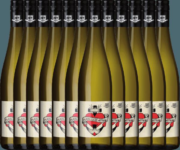 12er Vorteils-Weinpaket - Glaube-Liebe-Hoffnung Riesling 2020 - Bergdolt-Reif & Nett
