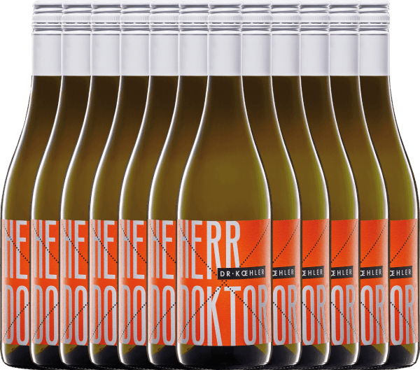 12er Vorteils-Weinpaket - Herr Doktor 2020 - Dr. Koehler