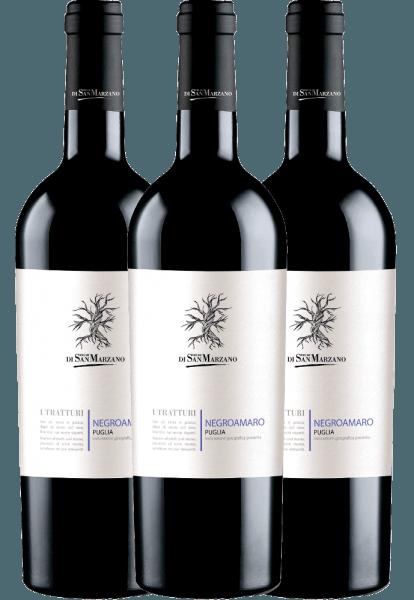 3er Vorteils-Weinpaket - I Tratturi Negroamaro 2019 - Cantine San Marzano