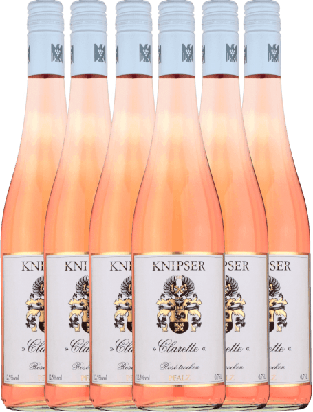 6er Vorteils-Weinpaket - Clarette Rosé 2020 - Knipser
