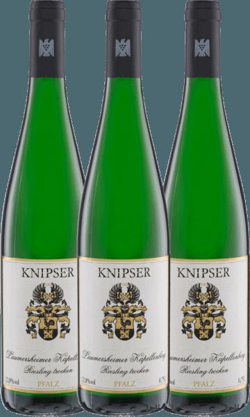 3er Vorteils-Weinpaket - Kapellchen Riesling 2020 - Knipser