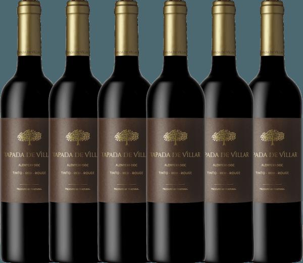 6er Vorteils-Weinpaket Tapada de Villar Tinto 2019 - Quinta das Arcas