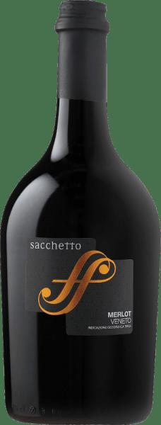 El Merlot Veneto IGT de Sacchetto brilla en la copa en un rojo rubí con reflejos violáceos. El bouquet vinoso de este vino tinto seduce con sus maravillosos aromas frutales de bayas rojas, cerezas y ciruelas. Este vino tinto italiano es armonioso y seco en el paladar, con matices herbáceos. Un vino tinto encantador, que convence con una extraordinaria cantidad de fruta y fusión. Vinificación del Sacchetto Merlot Las uvas de este monovarietal de Merlot proceden del Véneto. Tras la recolección, las bayas se trituran y se maceran con los hollejos a temperatura controlada. A continuación, las uvas se prensan y fermentan con levaduras seleccionadas. La crianza de este Merlot se realiza en depósitos de acero inoxidable con posterior afinamiento en botella. Recomendación alimentaria para el Sacchetto Merlot Disfrute de este vino tinto seco con polenta, asados de carne blanca y roja o con pasta.