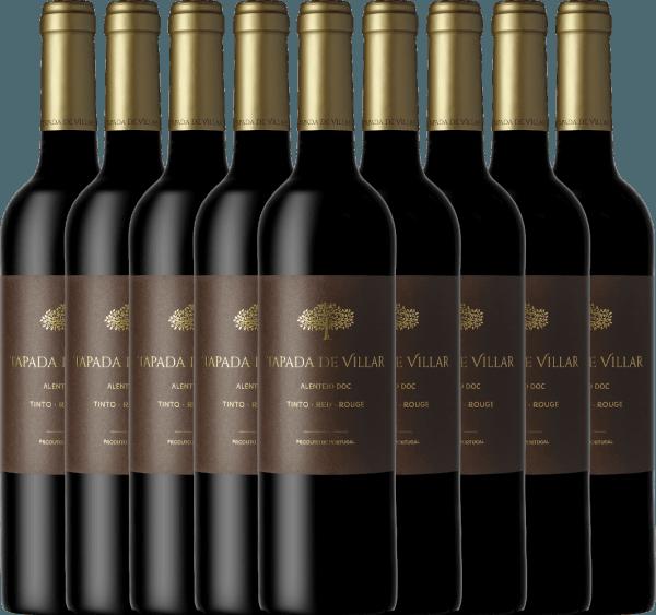 9er Vorteils-Weinpaket Tapada de Villar Tinto 2019 - Quinta das Arcas