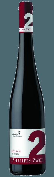 El complejo vino tinto Philipp's Zwei de Phillip Kuhn convence por su impresionante elegancia. El vino tinto desprende intensos aromas de frutas del bosque, apuntalados por sutiles notas de chocolate y hierbas. Un toque de especias navideñas redondea el aroma y la pimienta blanca proporciona un agradable efecto aha. Los potentes taninos le dan el mordiente necesario y una larga vida. Vinificación/Fabricación A lo largo de casi dos años, esta mezcla es envejecida en barricas de roble de dos años.Como todos los tintos de Philipp Kuhn, el vino se fermenta sin concesiones. Tras la vendimia manual, se separan los raspones de las uvas de vino tinto y las uvas se almacenan en el depósito de mosto. La fermentación tiene lugar allí durante un periodo de 10 días a 3 semanas. Durante un periodo de unos 20 meses, se almacena para su envejecimiento en barricas de dos años de roble francés. Sugerencia de servicio/maridaje Philipp's Zwei Rotweincuvée, de Phillip Kuhn, es unmuy buen acompañante de los platos fuertes de carne. Premios/premios de añadas anteriores Eichelmann - Estrella emergente del año 2010Gault Millau - Estrella emergente del año 2011