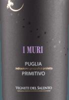 Vorschau: I Muri Primitivo Puglia IGP 2019 - Vigneti del Salento