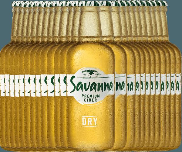 24er Vorteilspaket - Savanna Premium Dry Cider - Savanna