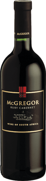 Ruby Cabernet 2018 - McGregor