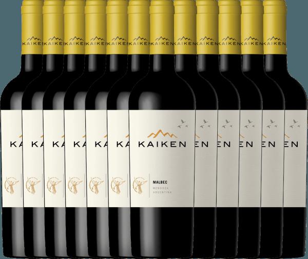 12er Vorteils-Weinpaket - Kaiken Malbec 2019 - Viña Kaiken