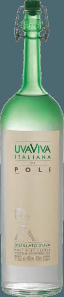ElUva Viva Italiana di Poli de Jacopo Poli es un aguardiente de uva fresco y vivo, destilado a partir de las variedades de uva Malvasía (60%) y Moscato (40%). En la copa este brandy se presenta con un color claro y transparente. El fino bouquet afrutado se caracteriza por intensas notas de albaricoques maduros, peras jugosas y toques florales de azahar. En el paladar, este aguardiente de uva italiano convence con una textura fresca y un cuerpo vivo Destilación de la Uva Viva Italiana di Poli Las uvas Malvasía y Moscato se fermentan primero en depósitos de acero inoxidable a temperatura controlada. A continuación, este vino se destila junto con la uva tradicionalmente en antiguos alambiques de cobre. Tras el proceso de destilación, este aguardiente de uva sigue teniendo un 75 % de volumen. Añadiendo agua destilada, el Uva Viva Italiana di Polialcanza una graduación alcohólica del 40% en volumen. Después, este aguardiente de uva reposa durante al menos 6 meses en depósitos de acero inoxidable para ser finalmente embotellado suavemente filtrado. Recomendación de servicio para laUva Viva Italiana di Poli Jacopo Poli Disfrute de este aguardiente de uva de Italia a una temperatura de 10 a 15 grados como digestivo después de un delicioso menú o con postres como la tarta de albaricoque.