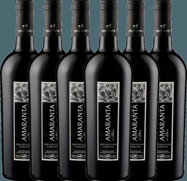 6er Vorteils-Weinpaket - AMARANTA Montepulciano d'Abruzzo DOC 2018 - Tenuta Ulisse