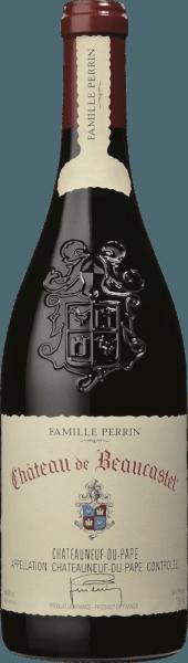 El Château de Beaucastel de Perrin & Fils, de la región vinícola francesa AOC Châteauneuf du Pape, en el sur del valle del Ródano, es una excelente, expresiva y elegante cuvée de vino tinto de alta gama vinificada a partir de las variedades de uva Mourvèdre, Grenache, Syrah, Counoise y otras variedades tintas permitidas. En la copa, este vino brilla con un rojo burdeos profundo con ricos reflejos rojo cereza. La nariz, maravillosamente elegante, revela un intenso bouquet de cerezas maduras, grosellas negras y notas florales de violetas, hierbas aromáticas (laurel), una pizca de especias y sutiles toques de chocolate. Este vino tinto francés convence al paladar por su carácter increíblemente elegante. Los taninos son maduros y finos, bellamente densos y concentrados en su estructura. Esto subraya perfectamente la textura seductoramente aterciopelada, que se ve realzada por la fruta finamente especiada. El final es maravillosamente largo, sostenido por unos taninos tan elegantes como recubiertos y por el inolvidable juego aromático de frutas, especias y notas florales. Vinificación del Perrin & Fils Château de Beaucastel Situado en el hermoso Châteauneuf du Pape (situado entre Orange y Avignon) se encuentra el Château de Beaucastel con sus 70 hectáreas de viñedo. Los suelos se muestran en la superficie con guijarros rodados, arena más profunda, arcilla y piedra caliza. Cada variedad de uva se cosecha por separado y cuidadosamente a mano. La vinificación se realiza en fermentadores de roble para las variedades reductoras (Mourvèdre, Syrah) y en depósitos tradicionales de hormigón esmaltado para las uvas oxidativas (todas las demás variedades). Una vez finalizada la fermentación maloláctica, Famille Perrin mezcla las diferentes variedades. Por último, este vino tinto francés se envejece durante 12 meses en foudres de roble antes de embotellar la cuvée. Recomendación de comida para el Château de Beaucastel Este vino tinto seco de Francia armoniza especialmente bien con p
