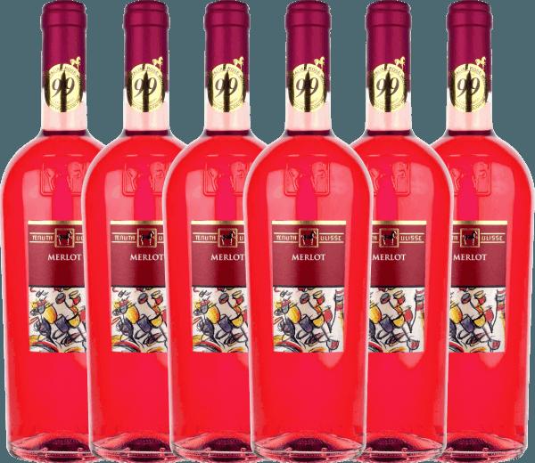 6er Vorteils-Weinpaket - Merlot Rosato 2020 - Tenuta Ulisse