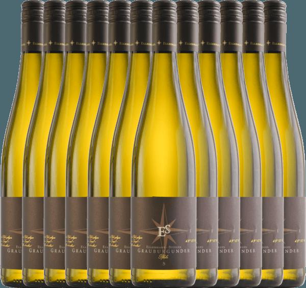 12er Vorteils-Weinpaket - Grauburgunder trocken 2020 - Ellermann-Spiegel