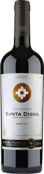 Santa Digna Merlot Gran Reserva 2019 - Miguel Torres Chile