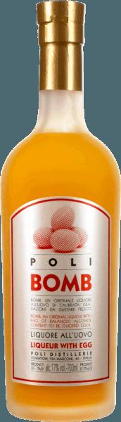 Poli Kreme 17 Bomb Likör mit Ei - Jacopo Poli