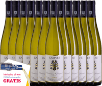 Vorschau: 12er Vorteils-Weinpaket - Chardonnay & Weißburgunder 2020 - Knipser