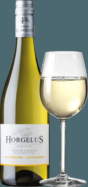 El Domaine Horgelus Blanc Côtes de Gascogne IGPde Domaine Horgelus impresiona por su brillante color amarillo claro, su varietal bouquet fresco e intenso en el que predominan los aromas cítricos, las frutas tropicales y las notas florales. Una cuvée muy lograda y sabrosa, que es afrutada y elegante en el paladar, con una estructura ácida viva y un regusto ligeramente mineral. Cultivo y vinificación del vino Horgelus Blanc En las soleadas laderas de Gascuña, en el corazón del suroeste de Francia, crecen las vides de los vinos de la bodega Domaine Horgelus de la familia Le Menn. Con Yoan, es ya la quinta generación que produce vinos, cada año se crean nuevos vinos, nuevas cuvées que continúan el espíritu del Domaine: vinos agradables, sin complicaciones y fácilmente accesibles para mucha gente y para cada ocasión. El vino blanco del Domaine Horgelus se elabora con un 75% de Colombard y un 25% de Sauvignon cultivados en los viñedos del domaine de 66 hectáreas. El secreto de los vinos de Yoan Le Menn es conservar los aromas afrutados y la frescura de sus vinos. Por ello, la vendimia se realiza a partir de las 3 de la mañana hasta la madrugada para aprovechar el frescor de las horas matinales. La fermentación alcohólica a temperatura controlada tiene lugar inmediatamente después del prensado suave en depósitos de acero inoxidable. Como resultado, los vinos embotellados, como el Horgelus Blanc, sorprenden por su riqueza de aromas y sabores afrutados. Premios y galardones del Horgelus Blanc ConcursoGénéral Agricole 2018 - Oro Recomendación de comida para el Horgelus BlancColombard Sauvignon Este vino blanco Horgelus de Gascuña, fresco y delicadamente perfumado, es un vino para todos y para muchas ocasiones. El francés sin complicaciones combina perfectamente con aves de corral, carnes blancas, pescado y marisco al vapor, ensalada mixta con vinagreta.