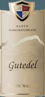 Vorschau: Markgräflerland Gutedel trocken 2019 - Martin Waßmer