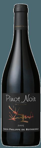 Les Cépages Pinot Noir Pays d'Oc - Baron Philippe de Rothschild