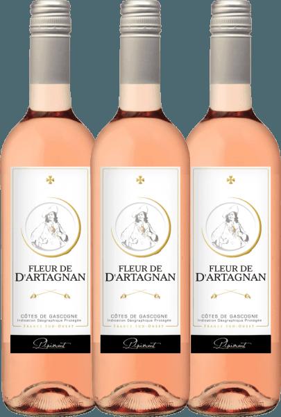 3er Vorteils-Weinpaket - Fleur de d'Artagnan Rosé 2019 - Plaimont